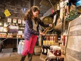 As well as cider and brandy the Somerset Cider Brandy Co shop sells pickles and apple sauce