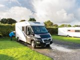 Stone Pitt Holiday Park has large hardstanding pitches, good facilities and an ideal location