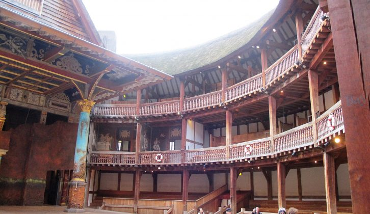 Book ahead if you want to catch a play at Shakespeare's magnificent Globe Theatre