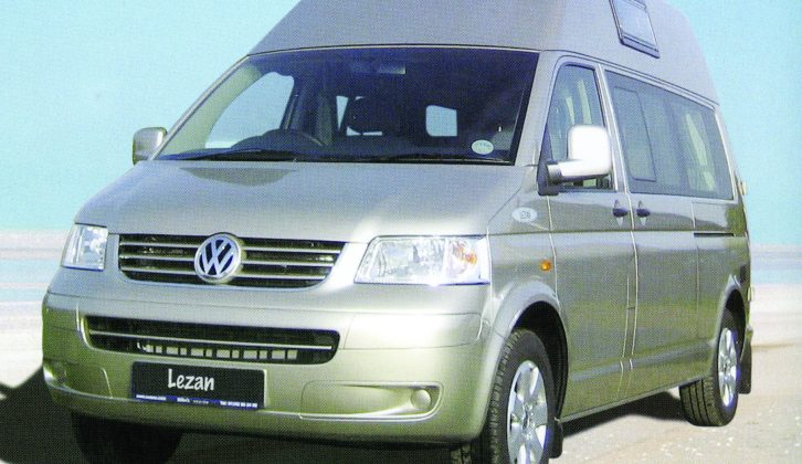 Production models of Bilbo's Lezan went from the VW T6 to the T6