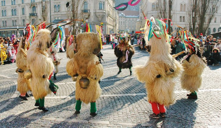 Let your hair down at the Ljubljana Carnival after reading our new June issue