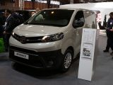 Toyota presented its new-generation Euro 6-complaint Proace
