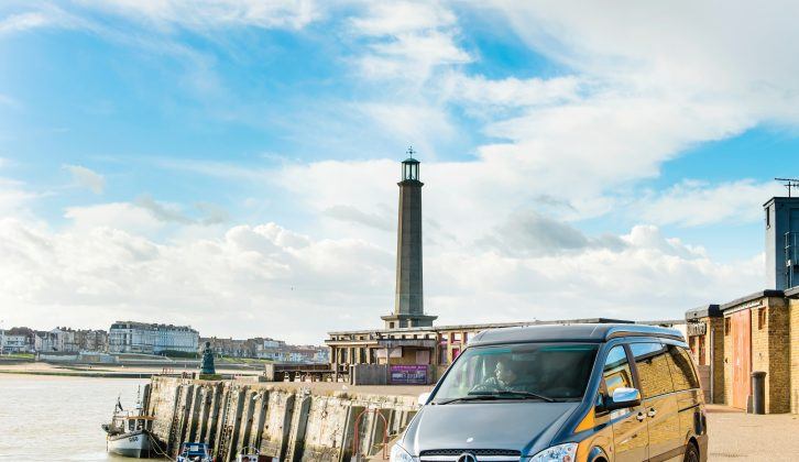 Al explored Thanet and Margate in the Auto-Sleeper Wave