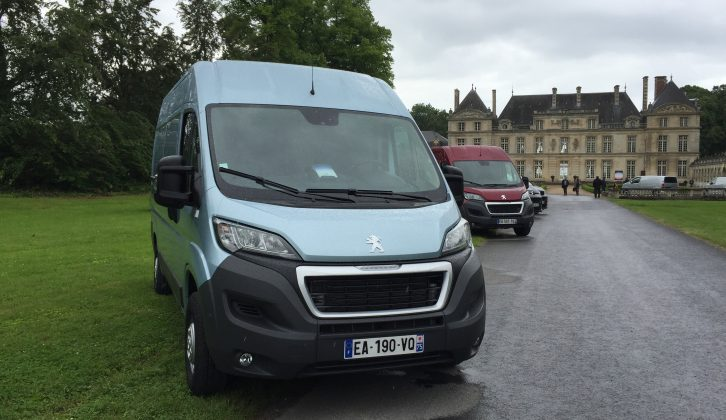 Two-litre diesel engines power the new Peugeot Boxer/Citroën Relay vans