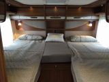 The Hymermobil B-Class PremiumLine 778 has a pair of generous fixed singles at the rear