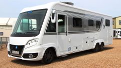 With a 5500kg MTPLM, you'll be pleased to learn that the Knaus Sun I 900 LEG is powered by a 3.0-litre, 180bhp, turbodiesel engine