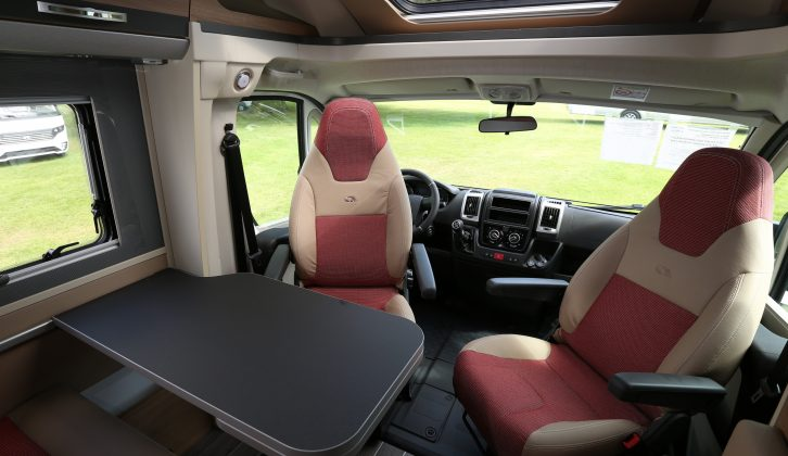 Plus trim for the Compact range of Adria motorhomes includes this panoramic skylight, as seen in this SP model