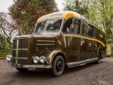 This 1950s Bedford OB bus has been meticulously restored, with a twist