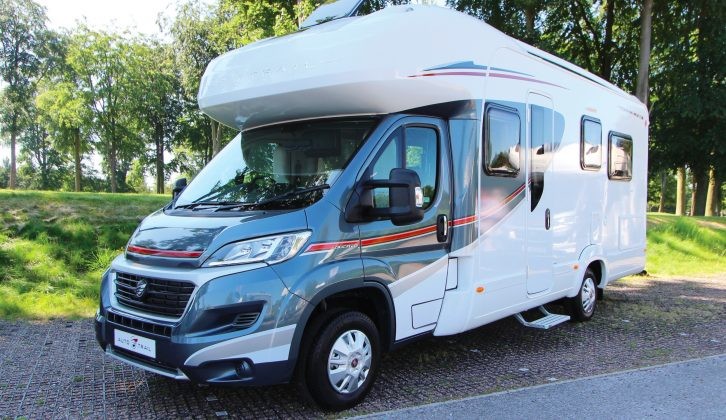This is the new-for-2017-season Auto-Trail Imala 734, which offers a permanent (convertible) 'single-beds-at-the-rear' option
