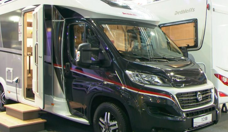 The glittering Dethleffs Magic Edition T 2 EB is an interesting 2017-season 'van – watch our review