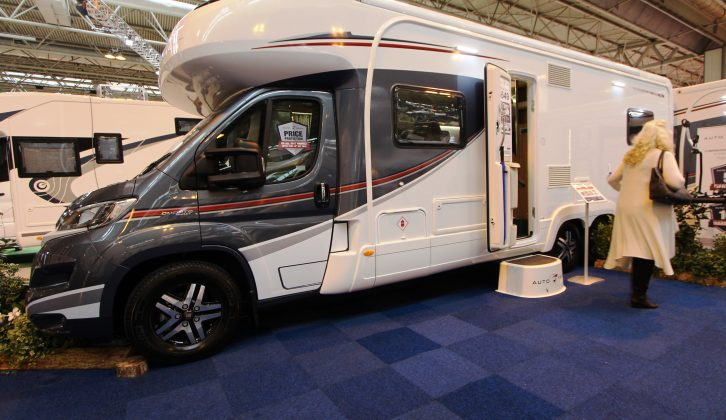 Here's the new tandem-axle 2017-season Auto-Trail Comanche S