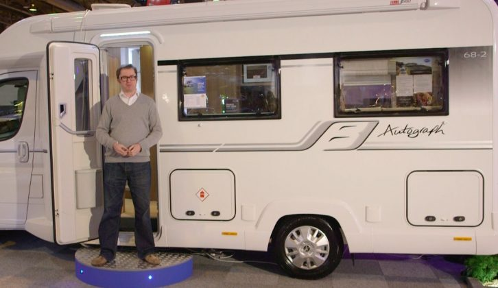Here's the new-season Bailey Autograph 68-2 – watch our review on Practical Motorhome TV