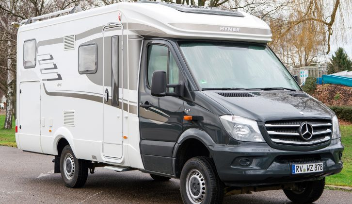 Read our review of the Hymer ML-T 580 4x4' we took to Germany in this month's magazine – on sale now