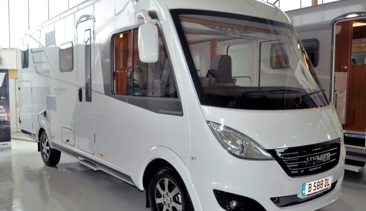 This four-berth Hymer motorhome costs from £73,500 OTR, £85,128 as tested