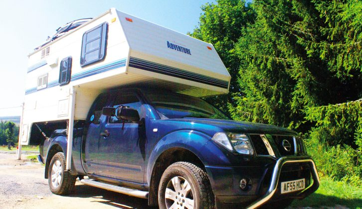 This demountable rides on a Nissan Navara pick-up that has been modified for the task