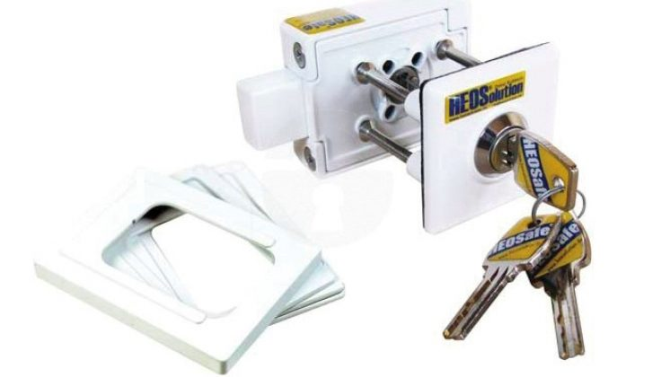 Extra locks and shrouds to cover pull handles are a great idea – these are made by HEOSafe