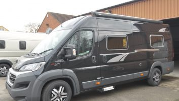 This 3500kg MTPLM 'van lives up to its name, but Shire Conversions can do it in other colours