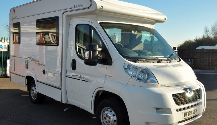 First registered in April 2009, this Elddis Sunseeker 115 has since toured 19,241 miles
