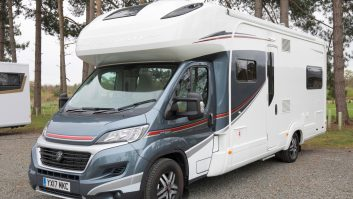 The Auto-Trail Frontier Scout starts at £70,648 OTR (£72,647 as tested) – this is the Hi-Line version