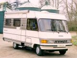 The Hymer B544 was introduced in 1986 and has a very family-friendly layout