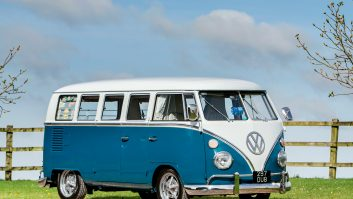 Coming out of storage and going under the hammer, this is a much-loved 1967 VW camper van