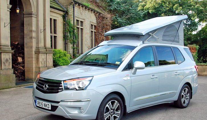 Need a compact camper? Turn to page 82 of our Summer Special magazine to see this SsangYong by Wellhouse Leisure
