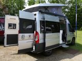 All 'vans in the Columbus range are based on the Fiat Ducato and have the sliding door on the UK offside