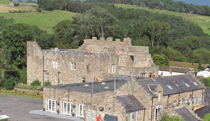 Stay in the historic surroundings of Blenkinsopp Castle for £10 a night
