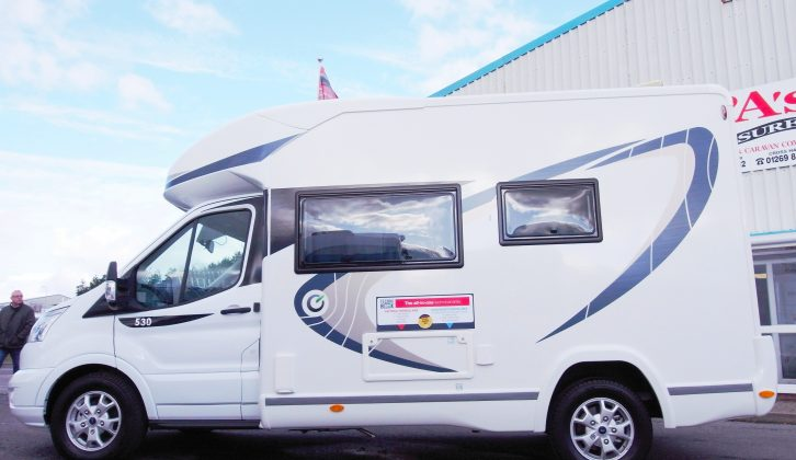 In our new magazine we also review the Chausson Flash 530