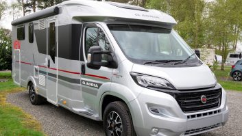 This Fiat Ducato-based 2017-season Adria is £57,990 OTR,  £62,474 as tested – the Thule awning costs £675