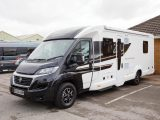 The Swift Bessacarr 599 is a new model for 2018 and has a rear-island-bed layout