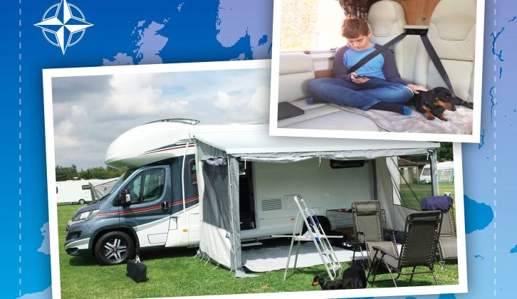 'Dolly' the Auto-Trail lets Sue, husband Carl, son Connor and the dogs hit the road at the drop of a hat!