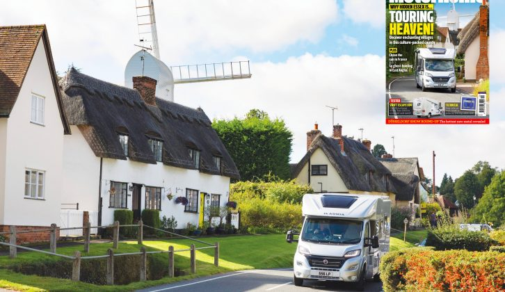 Enchanting Essex is the subject of this month's cover feature – discover this pretty county with Practical Motorhome