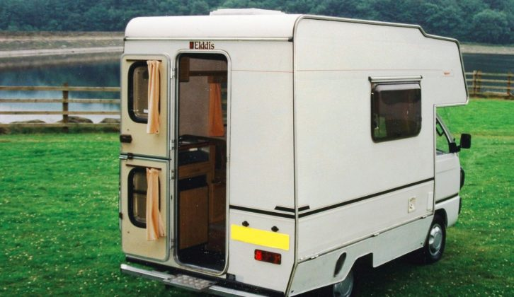 Both models feature a stable door in the rear panel