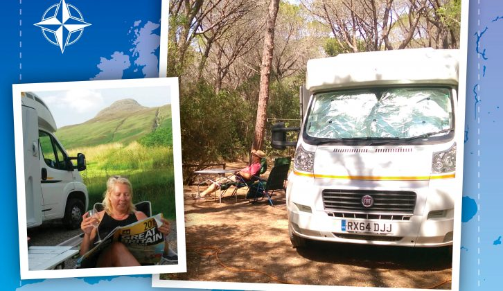 For Jacquie and Alan Watson, motorcaravanning has changed their outlook on life