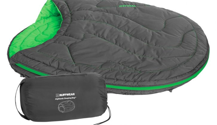 If your dog will tolerate it, how about this, the Ruffwear Highlands Sleeping Bag? It's a sleeping bag for dogs!