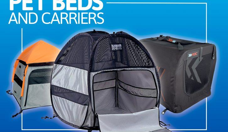 We tested 10 pet beds and carriers, evaluating them in terms of the same criteria, to see which are the best for your motorhome holidays