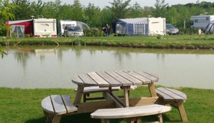 You can pitch at Eye Kettleby Lakes Touring Park when you visit Nottingham
