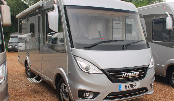 The 2018 Hymer Exsis-i 474 is priced from £66,130 OTR – £82,420 as tested