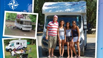 Swapping hotels for motorhomes has been a big success for this reader and his family
