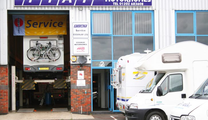 A service should be carried out on your motorhome annually to ensure all is in good working order and road safe, and to protect any warranty
