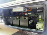 Hymer fits a 45A Votronic B2B unit as standard, alongside the Schaudt Elektroblock with its high-power electrical systems