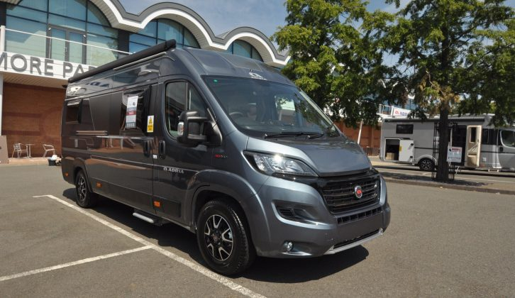 The Adria Twin 640 SLB offers a twin single bed layout on the extra-long Fiat Ducato