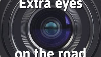 Reversing cameras can make motorhoming safer both for you and for other road users