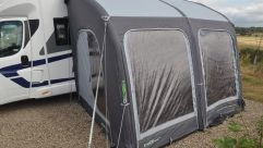 The XL version proved an ideal match to this Swift Escape 685 coachbuilt with Omnistor wind-out awning