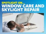 Check out our tips on window care and skylight repairs that you can do at home