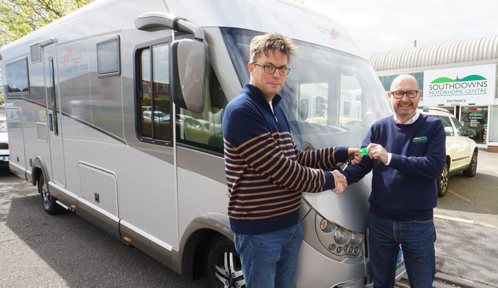 Reviews Editor Peter picked up our latest long-term loan, the Carthago Liner-for-Two, from Southdowns Motorhomes