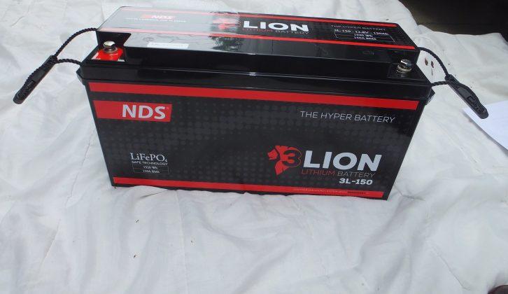 NDS 150Ah battery