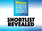 Read on to find out what 'vans and accessories made it to the shortlist of our 2020 Motorhome of the Year Awards