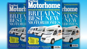 Pick up our latest issue to find out what 'van was crowned Motorhome of the Year 2020